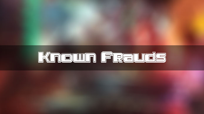 known-frauds